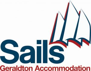 Sails Motel Geraldton Logo